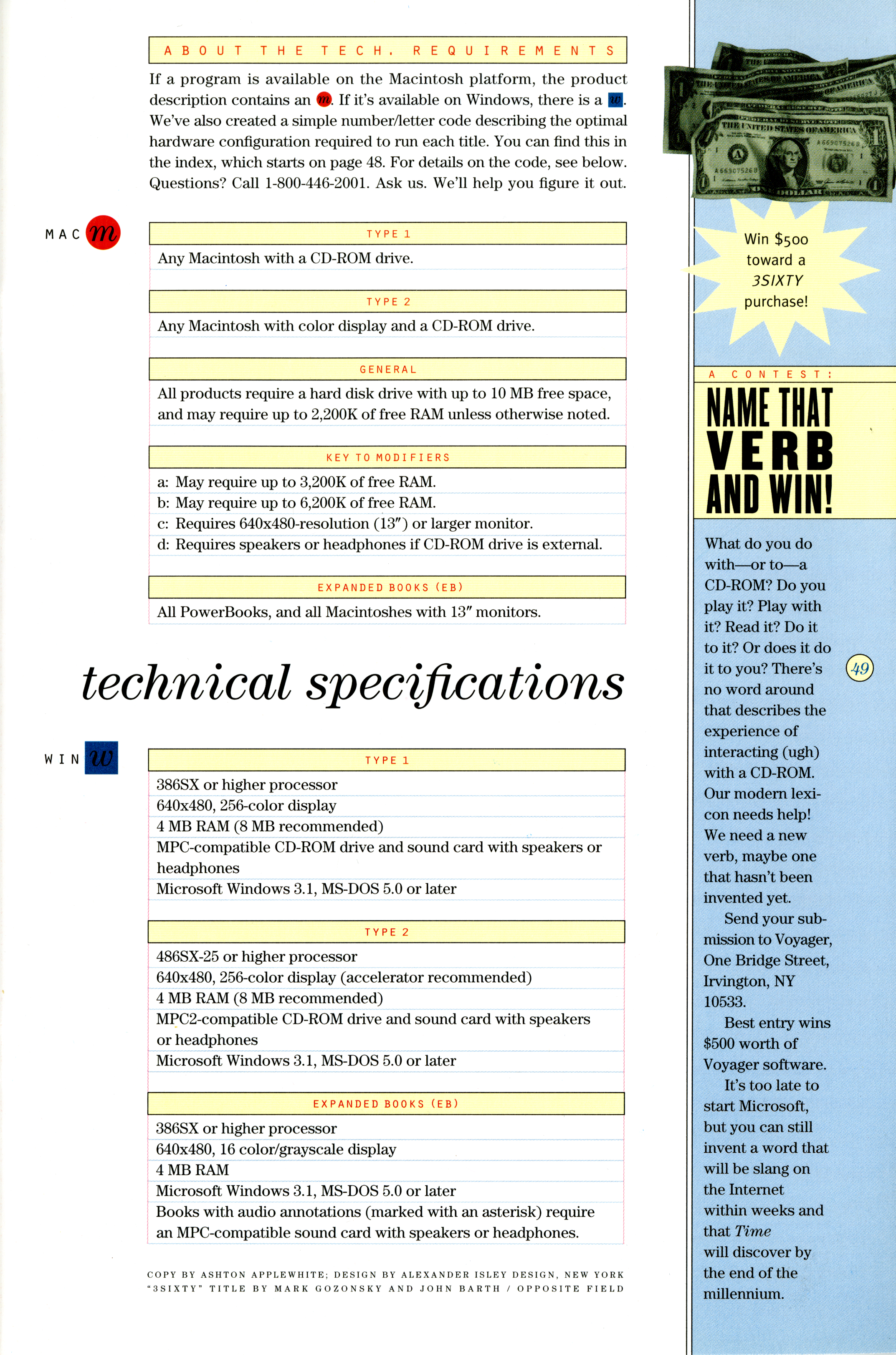 Technical Specifications | if:book